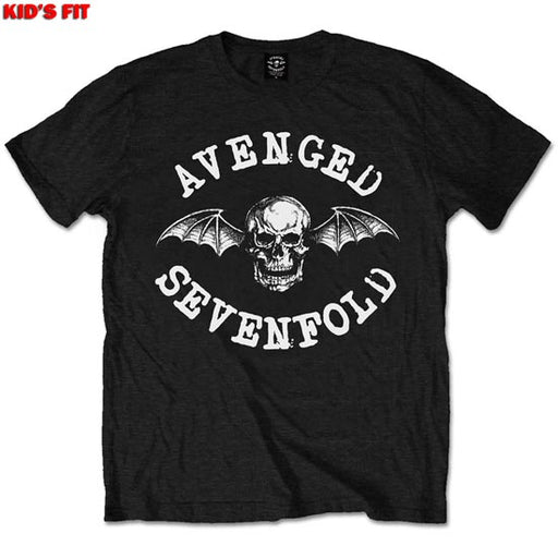 T-Shirt - Avenged Sevenfold - Classic Deathbat - Kids