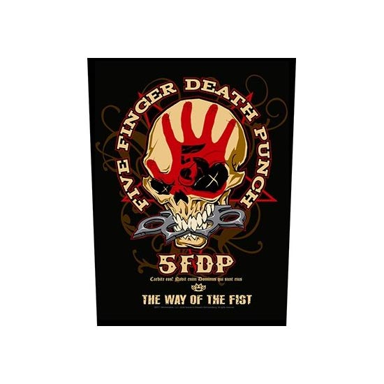 Five Finger Death Punch - Way of the Fist (Back Patches)-Metalomania