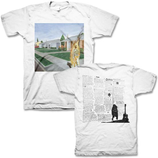 T-Shirt - Bad Religion - Suffer Album Cover - White
