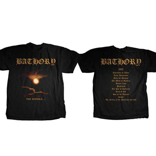 T-Shirt - Bathory - The Return-Metalomania