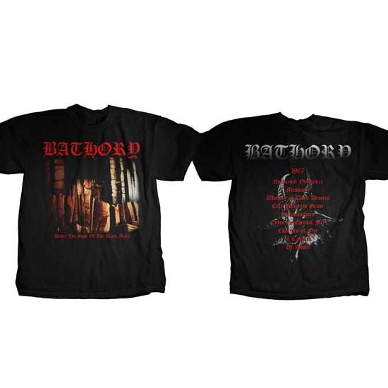 Bathory /'Under The Sign/' T-Shirt NEW /& OFFICIAL!