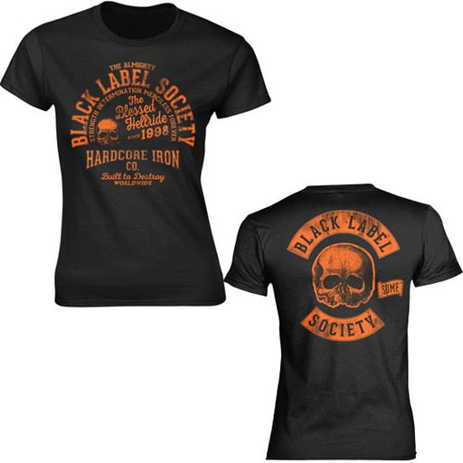 T-Shirt - Black Label Society - Hardcore Hellride - Lady
