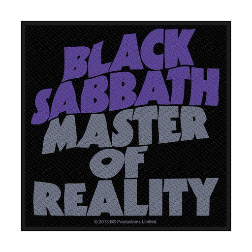 Patch - Black Sabbath - Master Of Reality
