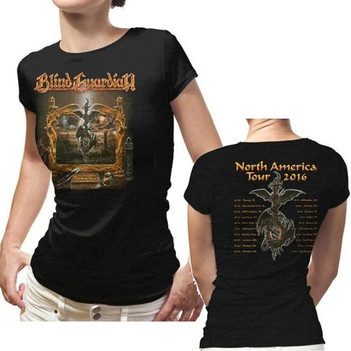 T-Shirt - Blind Guardian - Imaginations 2016 Tour - Lady-Metalomania