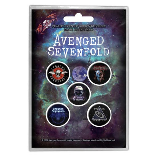 Button Badge Set - Avenged Sevenfold - The Stage