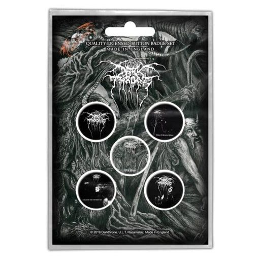 Button Badge Set - Darkthrone - Old Star