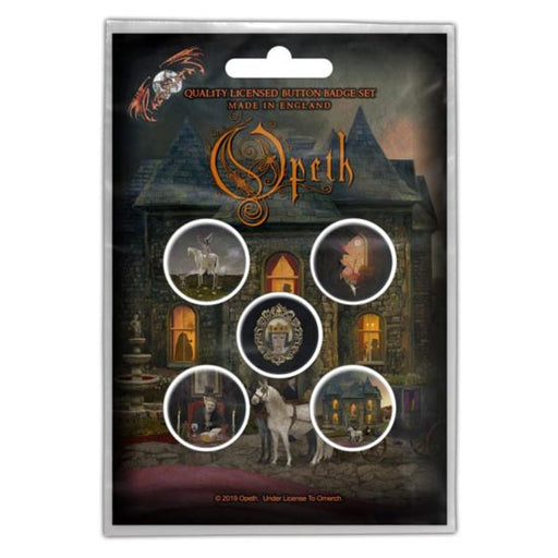 Button Badge Set - Opeth - In Caude Venenum
