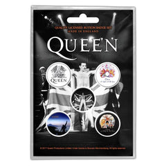Button Badge Set - Queen - Freddie