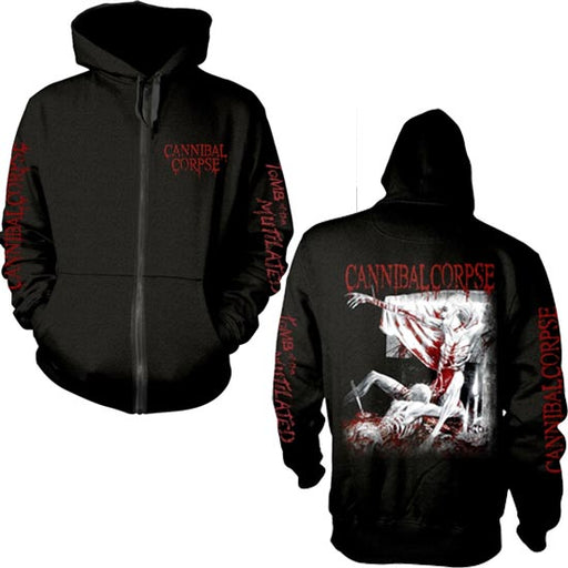Hoodie - Cannibal Corpse - Tomb Of The Mutilated - ZIP-Metalomania