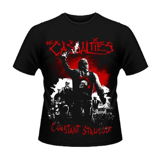 T-Shirt - The Casualties - Constant Struggle-Metalomania