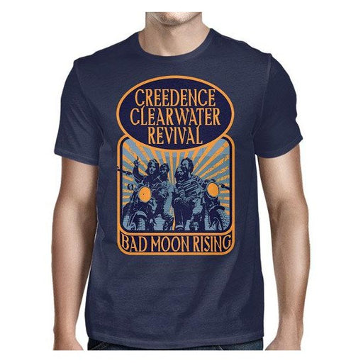T-Shirt - CCR - Bad Moon Rising-Metalomania