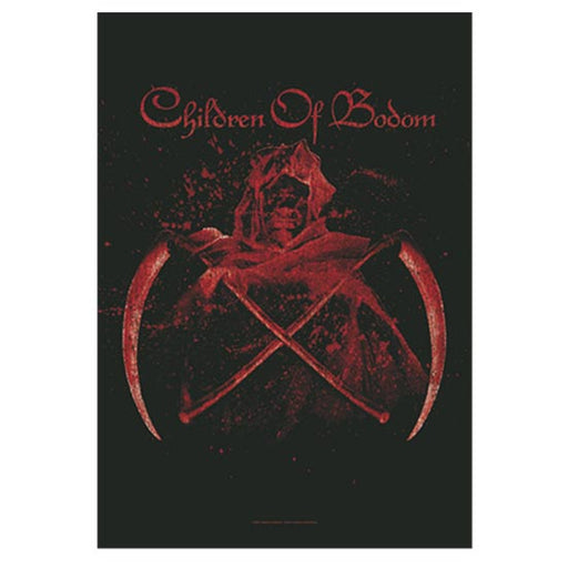 Flag - Children of Bodom - Crossed Scythes
