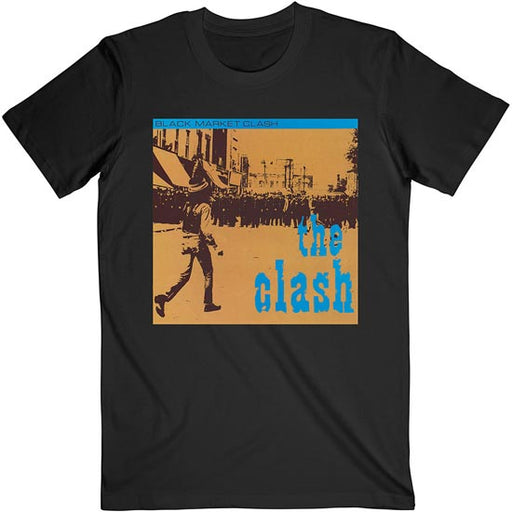 T-Shirt - Clash (the) - Black Market