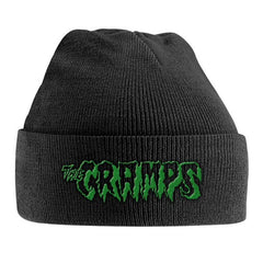 Beanie - Cramps, The - Green Logo