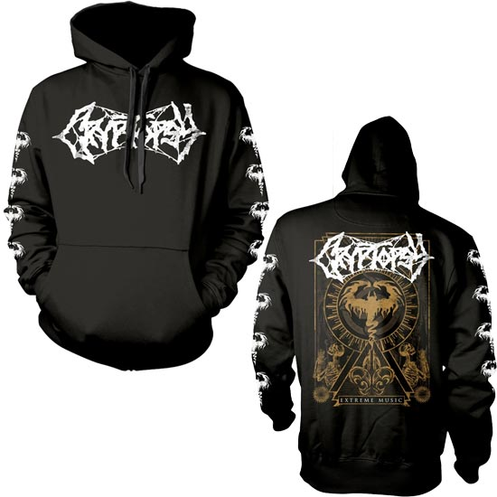 Hoodie - Cryptopsy - Extreme Music - Pullover-Metalomania