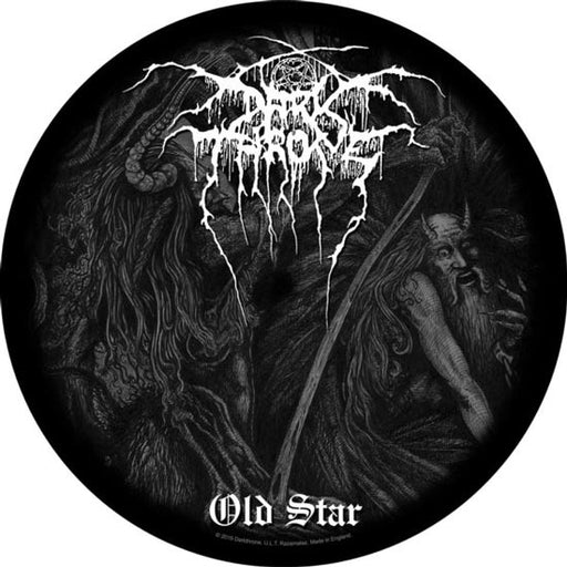 Back Patch - Darkthrone - Old Star Round-Metalomania