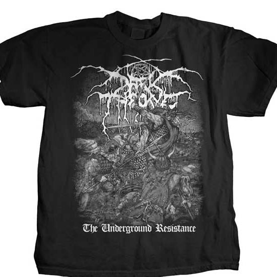 T-Shirt - Darkthrone - Underground Resistance-Metalomania