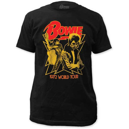 T-Shirt - David Bowie - 1972 World Tour-Metalomania