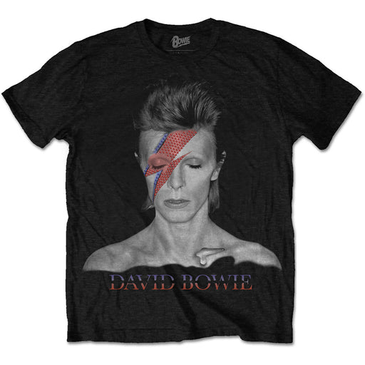 T-Shirt - David Bowie - Aladdin Sane - Black