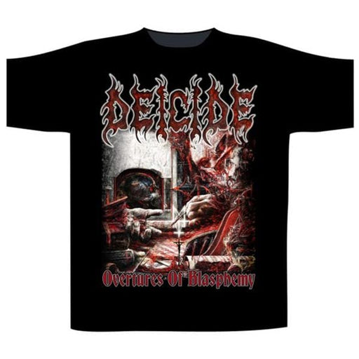 T-Shirt - Deicide - Overtures of Blasphemy