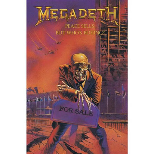 Deluxe Flag - Megadeth - Peace Sells