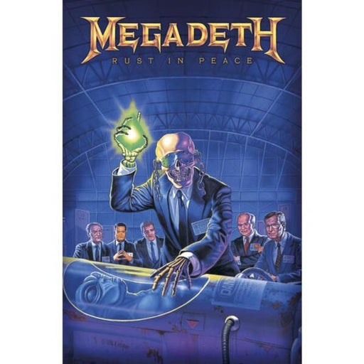 Deluxe Flag - Megadeth - Rust in Peace