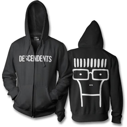 Hoodie - Descendents - Classic Milo - Zip-Metalomania