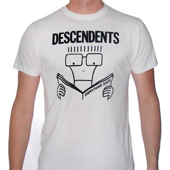 T-Shirt - Descendents - Everything Sucks - White
