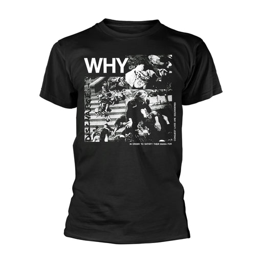 T-Shirt - Discharge - Why?-Metalomania