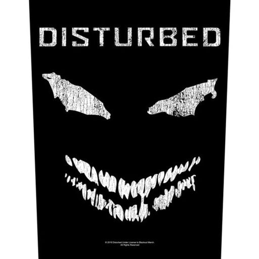 Back Patch - Disturbed -  Scary Face