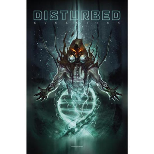 Deluxe Flag - Disturbed - Evolution-Metalomania
