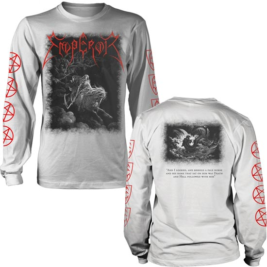 Long Sleeves - Emperor - Rider 2019 - White-Metalomania