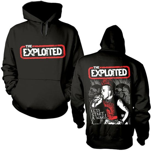 Hoodie - The Exploited - Let's Start A War - Pullover