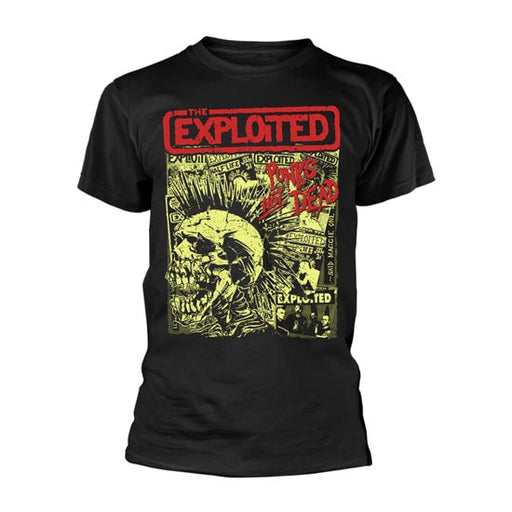 T-Shirt - The Exploited - Punks Not Dead - Full print