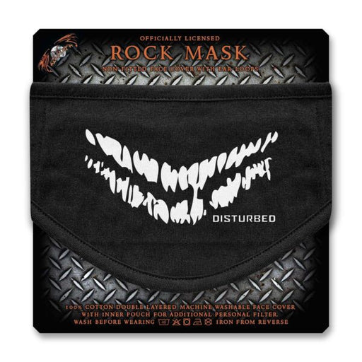 Face Mask - Disturbed - Smile