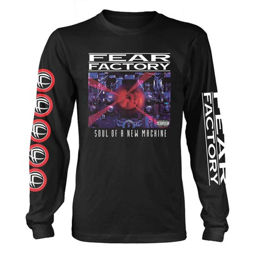 Long Sleeves - Fear Factory - Soul of a New Machine-Metalomania