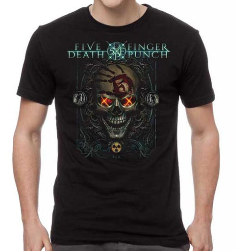 T-Shirt - Five Finger Death Punch - Iron Skull-Metalomania