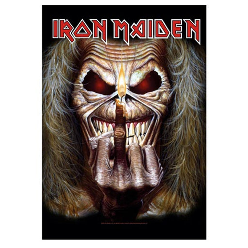 Flag - Iron Maiden - Candle Finger