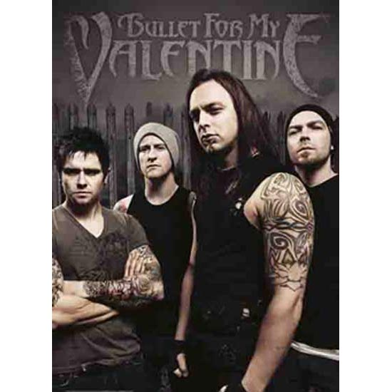 Flag - Bullet for my Valentine - Band Photo-Metalomania