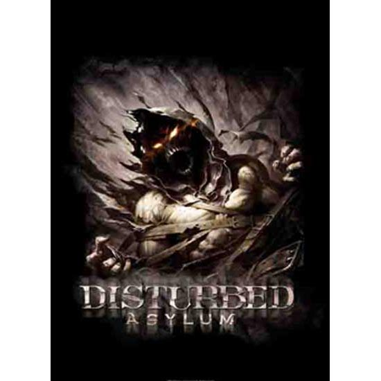 Flag - Disturbed - Big Fade Asylum-Metalomania