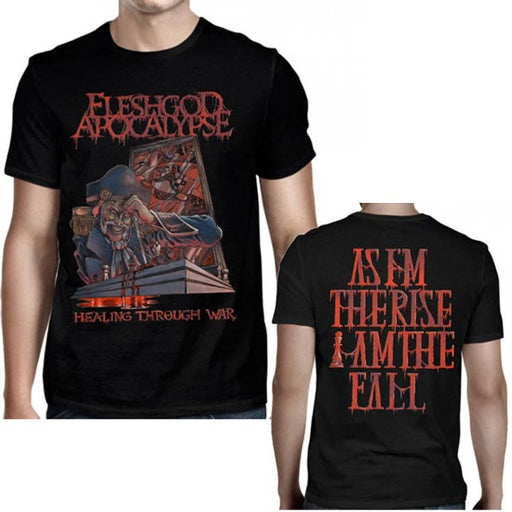 T-Shirt - Fleshgod Apocalypse - Healing Through War-Metalomania