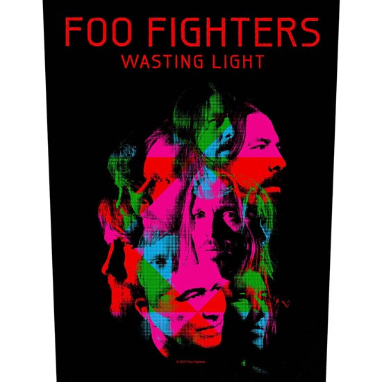 Back Patch - Foo Fighters - Wasting Light-Metalomania