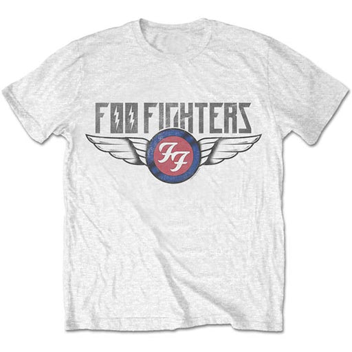 T-Shirt - Foo Fighters - Flash Wings - White