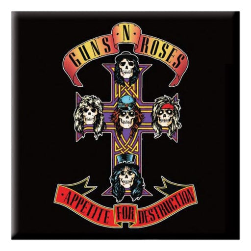 Fridge Magnet - Guns N Roses - Appetite for Destruction-Metalomania