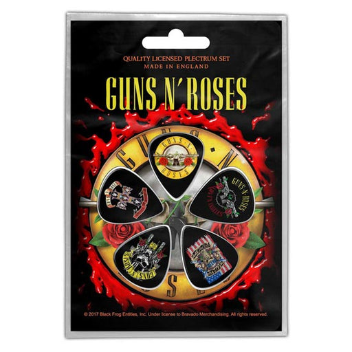 Guitar Picks - Guns N Roses - Bullet Logo