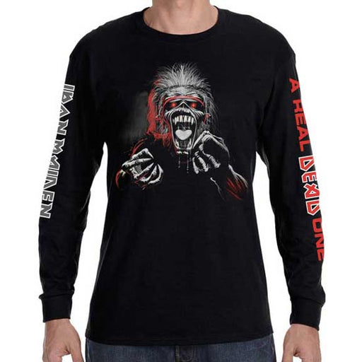 Long Sleeve Shirt - Iron Maiden - A Real One 3 Color