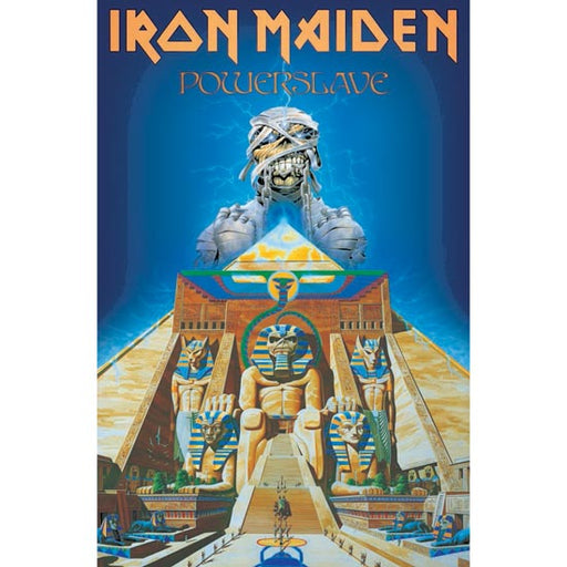 Deluxe Flag - Iron Maiden - Powerslave-Metalomania