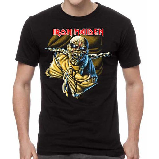 T-Shirt - Iron Maiden - POM Black Overdye