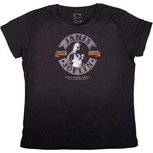 T-Shirt - Janis Joplin - Kozmic Blues - Lady-Metalomania