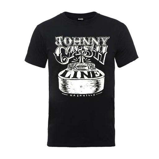 T-Shirt - Johnny Cash - Walk the Line-Metalomania